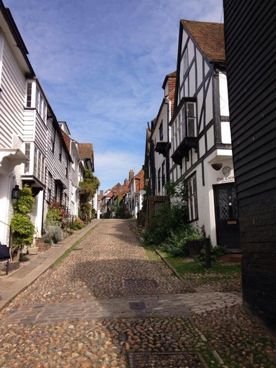 Cobbled Mermaid Street in Rye, East Sussex is one of the most photographed streets in the UK. Our seaside holiday cottage, Marsh View Cottage, Camber Sands, has fantastic 5***** Trip Advisor reviews and is only 3 miles away from this pretty, medieval town in south east England